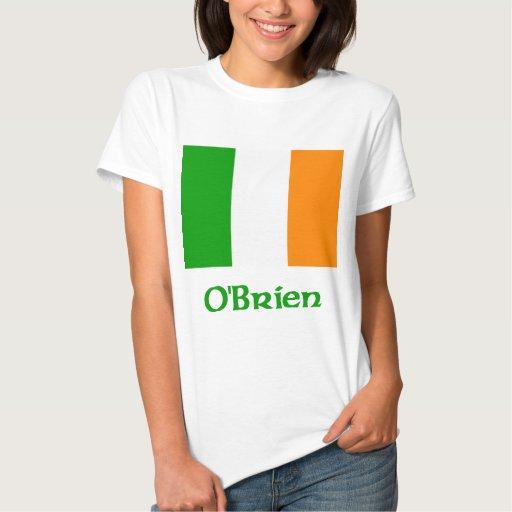 OBrien Irish Flag T Shirt