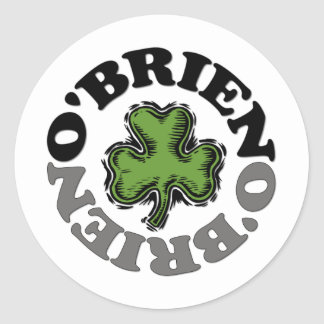 O'Brien Round Sticker