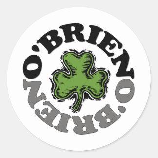 O'Brien Round Sticker