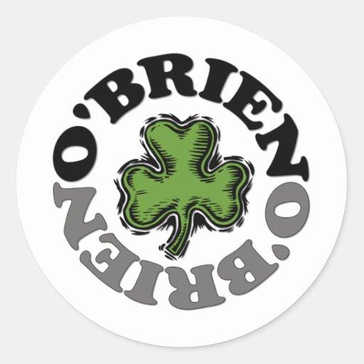 O'Brien Stickers