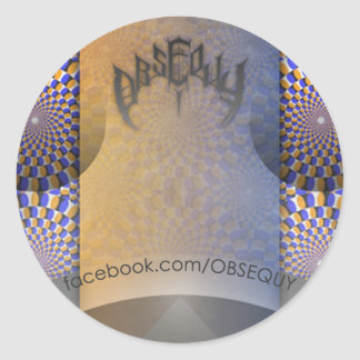 Obsequy Reason promo sticker