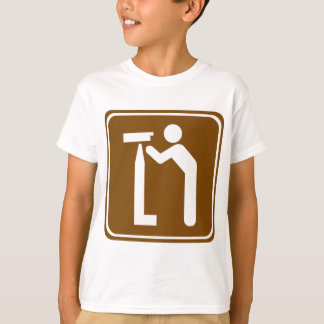 Observation Point Highway Sign Shirts