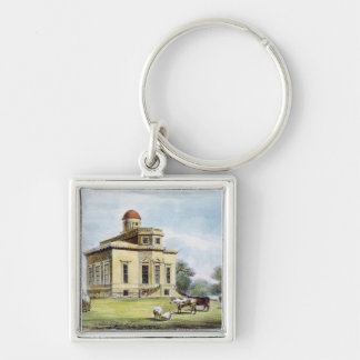 Observatory, Richmond Gardens, plate 14 from 'Kew Silver-Colored Square Key Ring