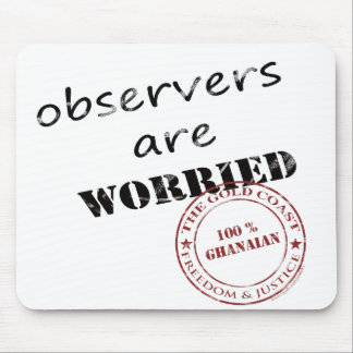 observers are worried mouse pad
