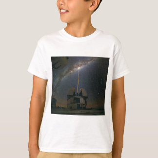 Observing the Milky Way using the Laser Guide Star Shirt