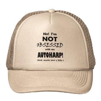 Obsessed Autoharp Mesh Hats