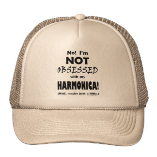 Obsessed Harmonica Cap