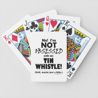 Obsessed Tin Whistle Poker Deck