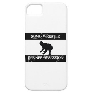 obsessed with sumo wrestle iPhone 5 cases