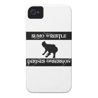 obsessed with sumo wrestle iPhone 4 cover