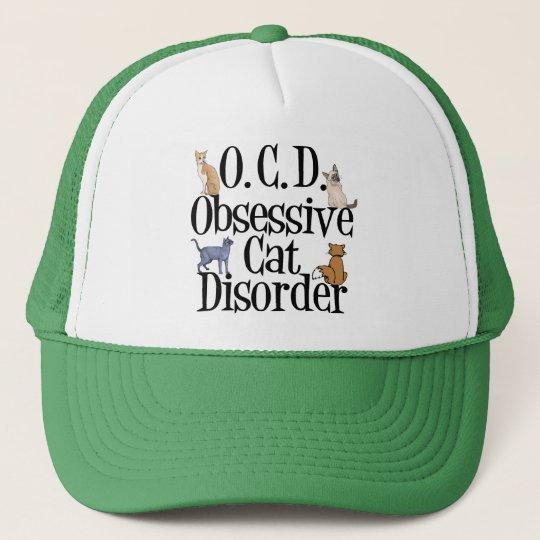 Obsessive Cat Disorder Cap