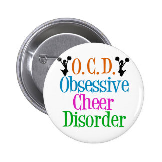 Obsessive Cheer Disorder 6 Cm Round Badge