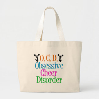 Obsessive Cheer Disorder Jumbo Tote Bag