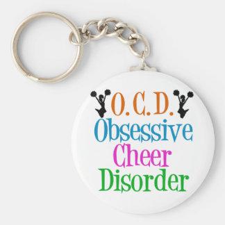 Obsessive Cheer Disorder Key Ring