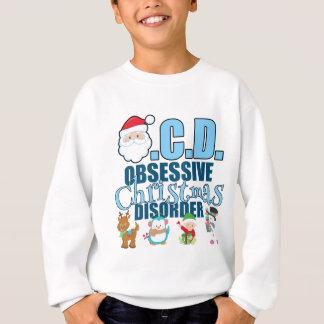 Obsessive Christmas Disorder (blue) Sweatshirt