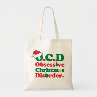 Obsessive Christmas Disorder Budget Tote Bag