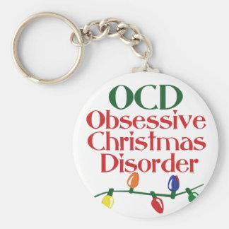 Obsessive Christmas disorder Keychain