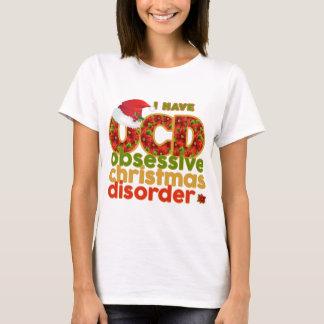 Obsessive Christmas Disorder Ladies T-shirt