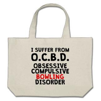 Obsessive Compulsive Bowling Disorder Tote Bag