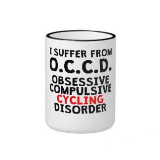 Obsessive Compulsive Cycling Disorder Ringer Coffee Mug