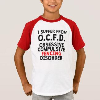 Obsessive Compulsive Fencing Disorder T-Shirt