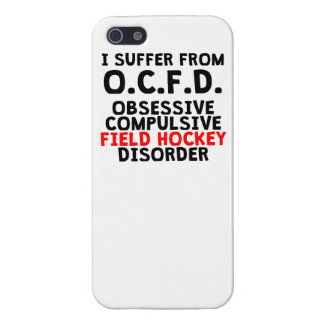 Obsessive Compulsive Field Hockey Disorder iPhone 5/5S Cases