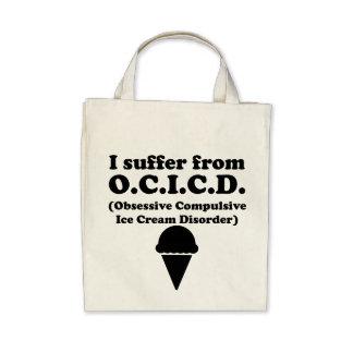 Obsessive Compulsive Ice Cream Disorder Canvas Bag