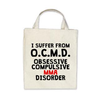 Obsessive Compulsive MMA Disorder Canvas Bags