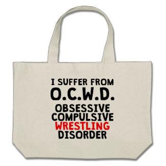 Obsessive Compulsive Wrestling Disorder Tote Bag