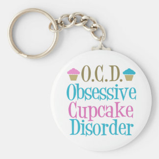 Obsessive Cupcake Disorder Key Ring