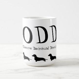 Obsessive Dachshund Disorder Basic White Mug