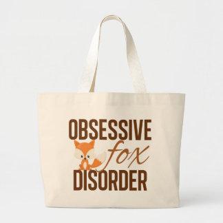 Obsessive Fox Disorder Cute Jumbo Tote Bag