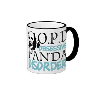 Obsessive Panda Disorder Ringer Mug
