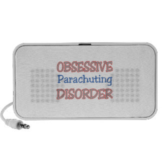 Obsessive Parachuting Disorder Portable Speaker