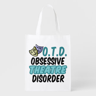 Obsessive Theatre Disorder Reusable Grocery Bag