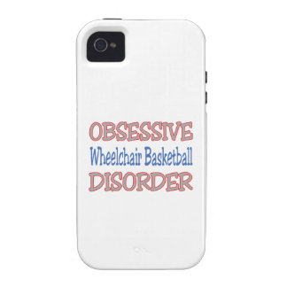 Obsessive Wheelchair Basketball Disorder iPhone 4 Cover