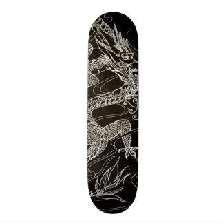 Obsidian Dragon Element Custom Pro Park Board 20 Cm Skateboard Deck