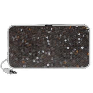 Obsidian glitter mini speaker