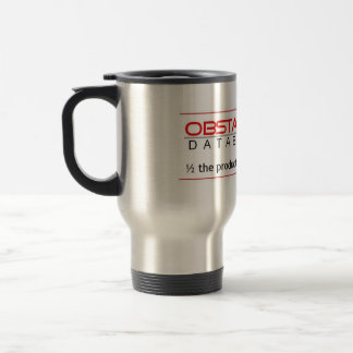 Obstacle Database 11g Travel Mug