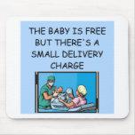 obstetrian joke mousemats