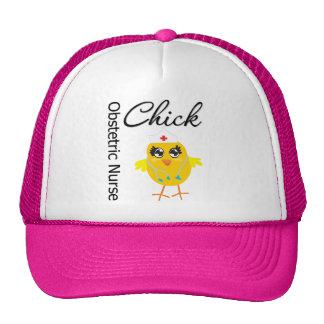 Obstetric Nurse Chick v1 Mesh Hats