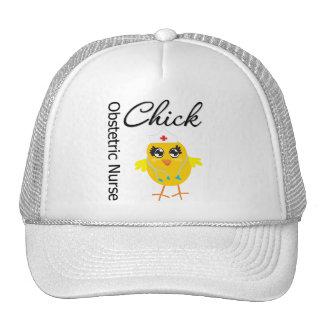 Obstetric Nurse Chick v1 Hats