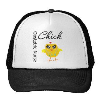 Obstetric Nurse Chick v1 Mesh Hat