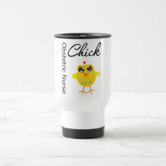 Obstetric Nurse Chick v1 Coffee Mug