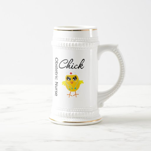 Obstetric Nurse Chick v1 Mug