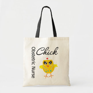 Obstetric Nurse Chick v1 Tote Bags