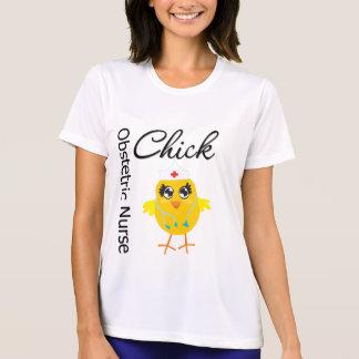 Obstetric Nurse Chick v1 T-shirts