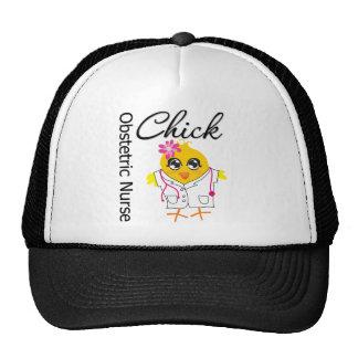 Obstetric Nurse Chick v2 Mesh Hat
