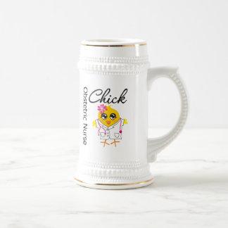 Obstetric Nurse Chick v2 Coffee Mugs