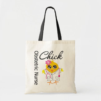 Obstetric Nurse Chick v2 Bags